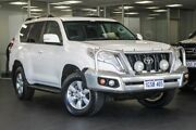 2015 Toyota Landcruiser Prado KDJ150R MY14 GXL White 5 Speed Sports Automatic Wagon Bellevue Swan Area Preview