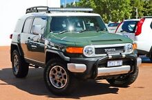2012 Toyota FJ Cruiser GSJ15R Green 5 Speed Automatic Wagon East Rockingham Rockingham Area Preview