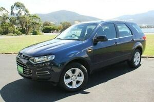 2013 Ford Territory SZ TX Seq Sport Shift Blue 6 Speed Sports Automatic Wagon Derwent Park Glenorchy Area Preview