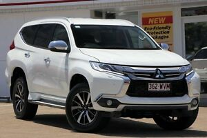 2015 Mitsubishi Pajero Sport QE MY16 Exceed White 8 Speed Sports Automatic Wagon Woolloongabba Brisbane South West Preview