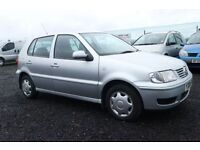 VOLKSWAGEN POLO 1.4 MATCH 5d AUTO 60 BHP - VIEW 360 SPIN ON WEBSI (silver) 2001