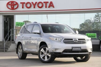 2013 Toyota Kluger GSU40R MY11 Upgrade KX-S (FWD) Silver 5 Speed Automatic Wagon Old Guildford Fairfield Area Preview