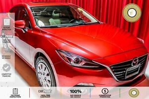 2014 Mazda Mazda3 GT-SKY 2 TONE LEATHER HTD SEATS! BT! NAVI!