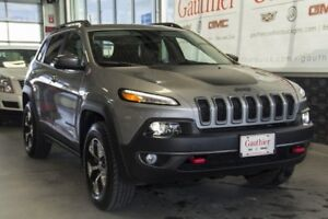 2017 Jeep Cherokee Trailhawk 4x4, Navigation, Bluetooth, Rear Ca