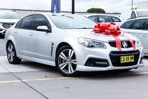 2014 Holden Commodore VF MY14 SV6 Silver 6 Speed Sports Automatic Sedan Thornleigh Hornsby Area Preview