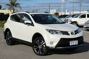 2015 Toyota RAV4 White Sports Automatic Wagon St James Victoria Park Area Preview