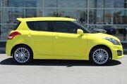2016 Suzuki Swift FZ MY15 Sport Yellow 6 Speed Manual Hatchback Osborne Park Stirling Area Preview