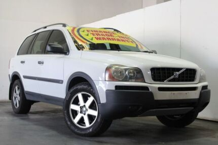 2005 Volvo XC90 05 Upgrade 2.5T Lifestyle Edition (LE) White 5 Speed Auto Geartronic Wagon Underwood Logan Area Preview