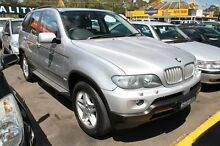 2004 BMW X5 4.4I SPORT Silver Automatic Wagon Ringwood East Maroondah Area Preview