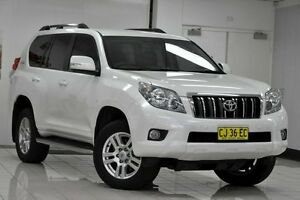 2013 Toyota Landcruiser Prado KDJ150R 11 Upgrade VX (4x4) White 5 Speed Sequential Auto Wagon Chatswood West Willoughby Area Preview