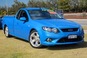 2009 Ford Falcon FG XR6 Ute Super Cab Blue 5 Speed Sports Automatic Utility Mindarie Wanneroo Area Preview
