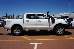 2015 Ford Ranger PX XLT Double Cab White 6 Speed Sports Automatic Utility Westminster Stirling Area Preview
