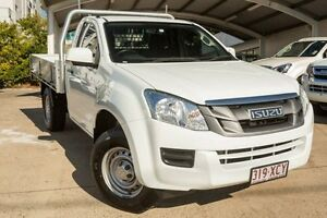 2013 Isuzu D-MAX MY14 SX White 5 Speed Sports Automatic Cab Chassis Mount Gravatt Brisbane South East Preview