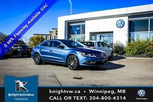 2016 Volkswagen CC Highline 0.99% Financing Avail OAC w/ Leather