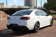 2016 Holden Commodore VF II MY16 SV6 Black White 6 Speed Sports Automatic Sedan The Gardens Darwin City Preview