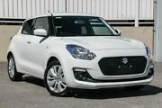 2018 Suzuki Swift AL GL Navigator White Continuous Variable Hatchback Cannington Canning Area Preview