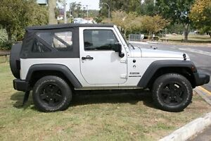2009 Jeep Wrangler JK MY2009 Sport Silver 6 Speed Manual Softtop Yeerongpilly Brisbane South West Preview