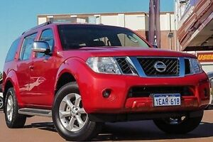 2012 Nissan Pathfinder R51 MY10 ST-L Red 6 Speed Manual Wagon Fremantle Fremantle Area Preview