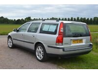 VOLVO V70 SE TURBO AUTO, Y REG, LEATHER SEATS, FSH, 218,000 MILES