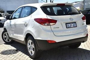 2010 Hyundai ix35 LM Active White 6 Speed Sports Automatic Wagon Victoria Park Victoria Park Area Preview