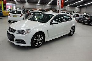 2015 Holden Commodore VF MY15 SV6 Storm White 6 Speed Sports Automatic Sedan Maryville Newcastle Area Preview