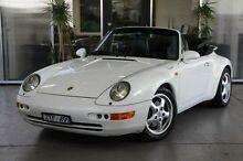 1994 Porsche 911 Carrera 993 White 4 Speed Automatic Cabriolet Port Melbourne Port Phillip Preview
