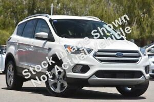 2019 Ford Escape ZG 2019.25MY Trend 2WD White 6 Speed Sports Automatic Wagon Morley Bayswater Area Preview