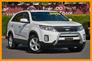 2013 Kia Sorento XM MY13 Si 4WD White 6 Speed Sports Automatic Wagon Mount Gravatt Brisbane South East Preview