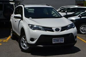 2014 Toyota RAV4 ZSA42R MY14 GX 2WD Glacier White 7 Speed Constant Variable Wagon Claremont Nedlands Area Preview