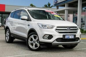 2017 Ford Escape ZG Trend 2WD White 6 Speed Sports Automatic Wagon