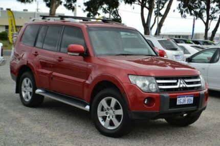 2007 Mitsubishi Pajero NS VR-X Red 5 Speed Sports Automatic Wagon