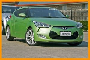2014 Hyundai Veloster FS2 Coupe D-CT Green 6 Speed Sports Automatic Dual Clutch Hatchback Hillcrest Logan Area Preview