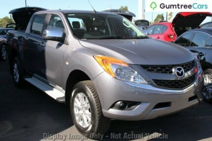 2013 Mazda BT-50 UP0YF1 GT Blue 6 Speed Sports Automatic Utility
