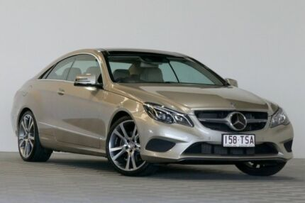2014 Mercedes-Benz E250 207 MY14 CDI Silver 7 Speed Automatic Coupe Salisbury Brisbane South West Preview