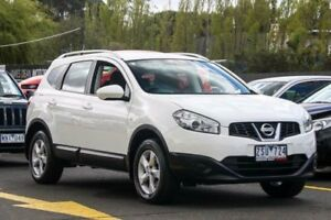 2013 Nissan Dualis J107 Series 4 MY13 +2 Hatch X-tronic 2WD ST White 6 Speed Constant Variable Ringwood East Maroondah Area Preview
