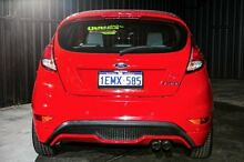 2014 Ford Fiesta WZ Red 6 Speed Manual Hatchback Wangara Wanneroo Area Preview