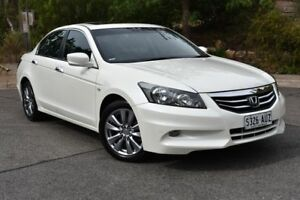 2012 Honda Accord 8th Gen MY12 Limited Edition White 5 Speed Sports Automatic Sedan St Marys Mitcham Area Preview