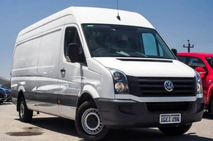 2015 Volkswagen Crafter 2EX1 MY15 35 High Roof LWB TDI340 White 6 Speed Manual Van Myaree Melville Area Preview
