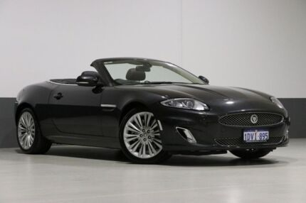 2012 Jaguar XK X150 MY10 5.0 V8 Grey 6 Speed Automatic Convertible Bentley Canning Area Preview