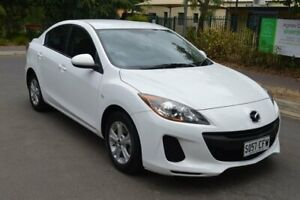 2013 Mazda 3 BL10F2 MY13 Neo Activematic White 5 Speed Sports Automatic Sedan Norwood Norwood Area Preview
