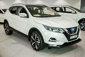 2018 Nissan Qashqai J11 Series 2 N-TEC X-tronic White 1 Speed Constant Variable Wagon Chatswood Willoughby Area Preview