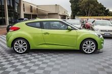 2012 Hyundai Veloster FS Coupe Green 6 Speed Manual Hatchback Alfred Cove Melville Area Preview