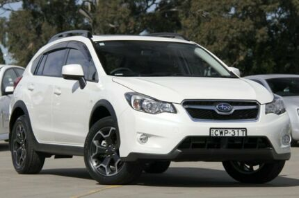 2014 Subaru XV MY14 2.0I-L White Continuous Variable Wagon Greenacre Bankstown Area Preview