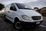 2007 Mercedes-Benz Vito 639 MY07 115CDI Low Roof Extra Long White 5 Speed Automatic Van Dandenong Greater Dandenong Preview