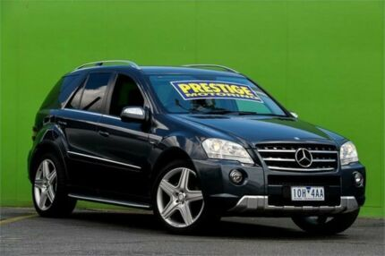 2009 Mercedes-Benz ML300 CDI W164 MY10 BlueEFFICIENCY AMG Sports Tenorite Grey 7 Speed Ringwood East Maroondah Area Preview