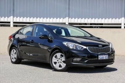 2016 Kia Cerato S YD MY15 Black 6 Speed Automatic Sedan Cannington Canning Area Preview