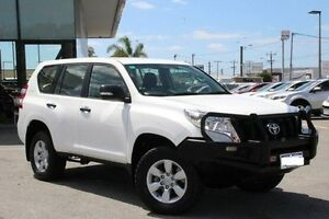 2014 Toyota Landcruiser Prado White Sports Automatic Wagon St James Victoria Park Area Preview