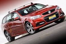 2014 Holden Commodore VF MY15 SV6 Sportwagon Red 6 Speed Sports Automatic Wagon Ferntree Gully Knox Area Preview
