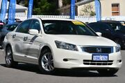 2010 Honda Accord 8th Gen MY10 VTi White 5 Speed Sports Automatic Sedan Bayswater Bayswater Area Preview