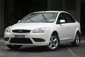 2007 Ford Focus LT LX White 4 Speed Automatic Sedan Brookvale Manly Area Preview